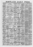 Portland Daily Press: March 08,1872
