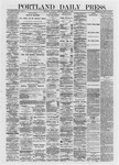 Portland Daily Press: March 09,1872