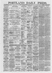 Portland Daily Press: March 11,1872