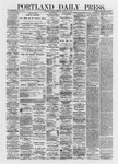 Portland Daily Press: March 12,1872