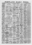 Portland Daily Press: March 15,1872