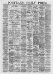 Portland Daily Press: March 16,1872