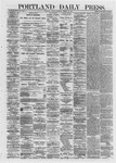 Portland Daily Press: March 18,1872