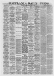 Portland Daily Press: March 21,1872