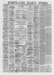 Portland Daily Press: March 22,1872
