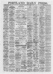 Portland Daily Press: March 23,1872