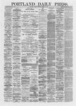 Portland Daily Press: March 25,1872
