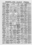 Portland Daily Press: March 26,1872