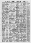 Portland Daily Press: March 27,1872