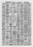 Portland Daily Press: March 28,1872