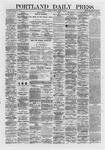 Portland Daily Press: March 29,1872