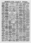 Portland Daily Press: March 30,1872