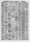 Portland Daily Press: April 11,1872