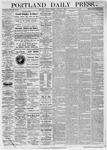 Portland Daily Press: January 01,1875