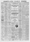 Portland Daily Press: January 06,1875
