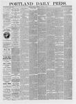 Portland Daily Press: January 08,1875
