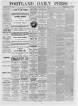 Portland Daily Press: January 09,1875