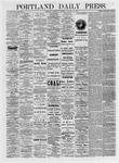 Portland Daily Press: January 13,1875