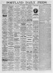 Portland Daily Press: January 14,1875
