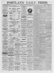 Portland Daily Press: January 15,1875
