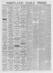 Portland Daily Press: January 20,1875