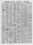 Portland Daily Press: January 21,1875