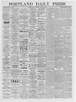 Portland Daily Press: January 22,1875