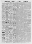 Portland Daily Press: January 23,1875