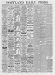Portland Daily Press: January 26,1875
