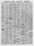 Portland Daily Press: January 27,1875