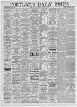 Portland Daily Press: January 29,1875