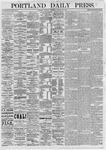 Portland Daily Press: January 30,1875