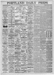 Portland Daily Press: February 10,1875