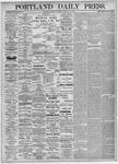 Portland Daily Press: February 16,1875