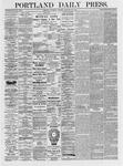 Portland Daily Press: February 20,1875