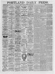 Portland Daily Press: February 22,1875