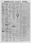 Portland Daily Press: February 25,1875