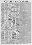 Portland Daily Press: March 3, 1875