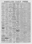 Portland Daily Press: March 8, 1875