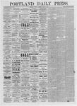 Portland Daily Press: March 9, 1875