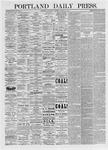 Portland Daily Press: March 10, 1875