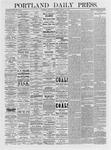 Portland Daily Press: March 11, 1875