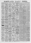 Portland Daily Press: March 12, 1875