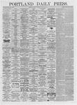 Portland Daily Press: March 15, 1875