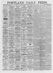 Portland Daily Press: March 17, 1875