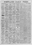 Portland Daily Press: March 18, 1875