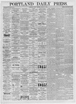 Portland Daily Press: March 19, 1875