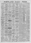 Portland Daily Press: March 20, 1875