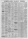 Portland Daily Press: March 22, 1875