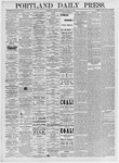 Portland Daily Press: March 23, 1875